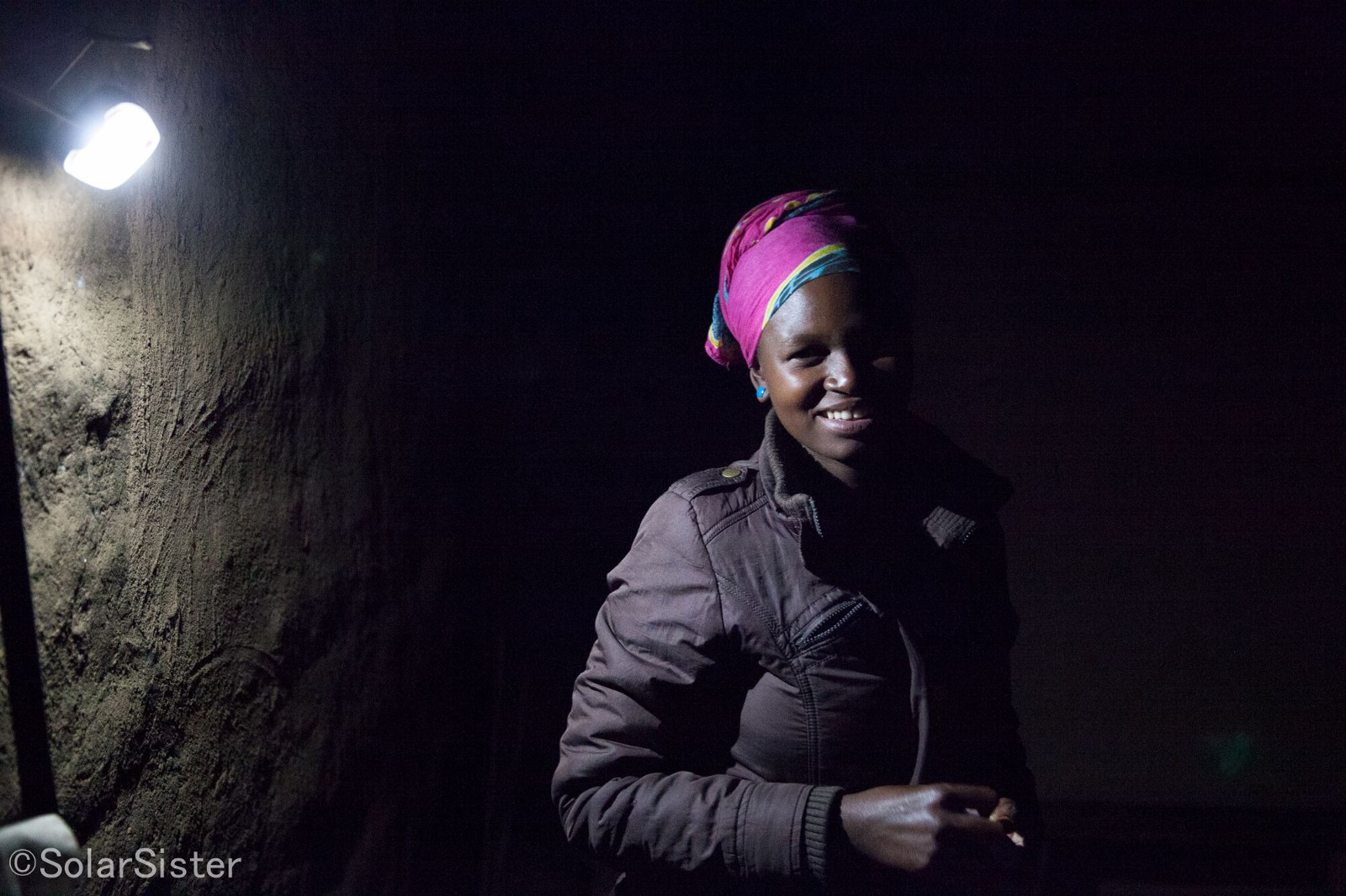 Prisca and her light