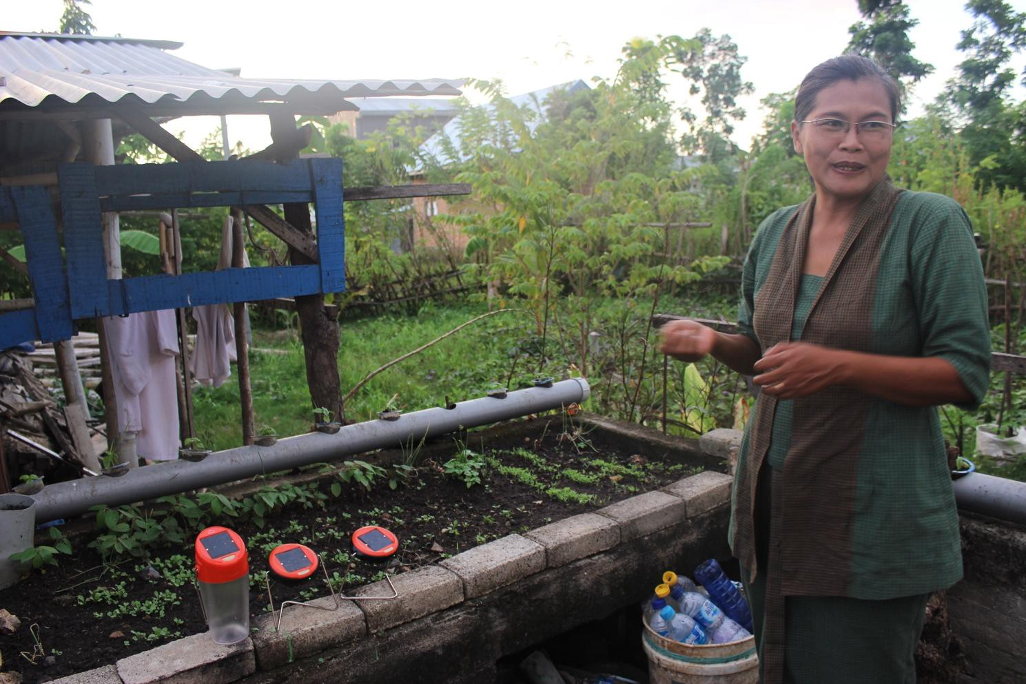 Ibu Bekti is a prominent figure in her community