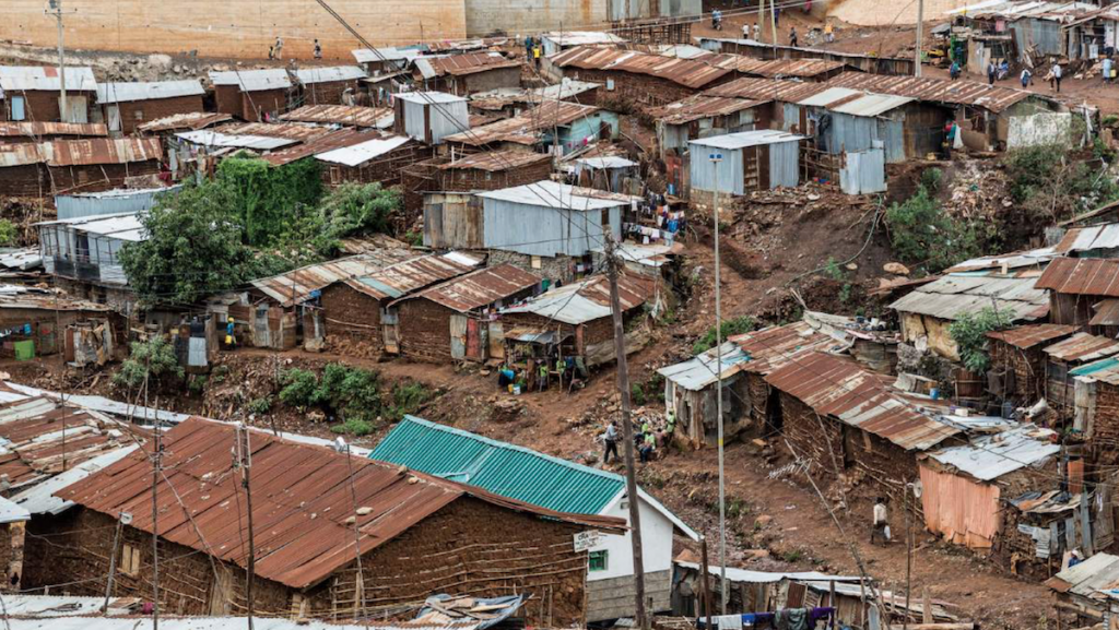 The current environmental and housing conditions in Kibera make it difficult for clean cooking  solutions to be effective - © Ninara