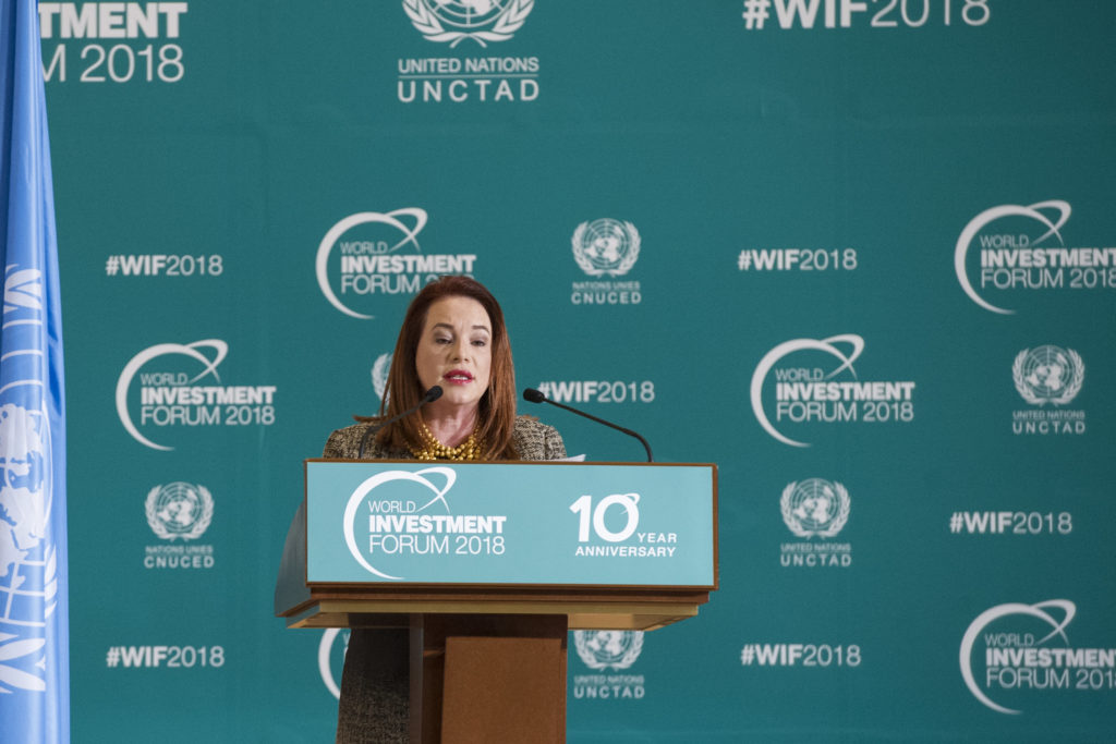 © UNCTAD photo by Violaine Martin. World Investment Forum 2018.