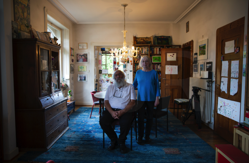 Photos by Joppe Rog. Sladek's parents, the EWS Schönau founding members Michael and Ursula, in their home where they held many meetings with the community throughout the years.