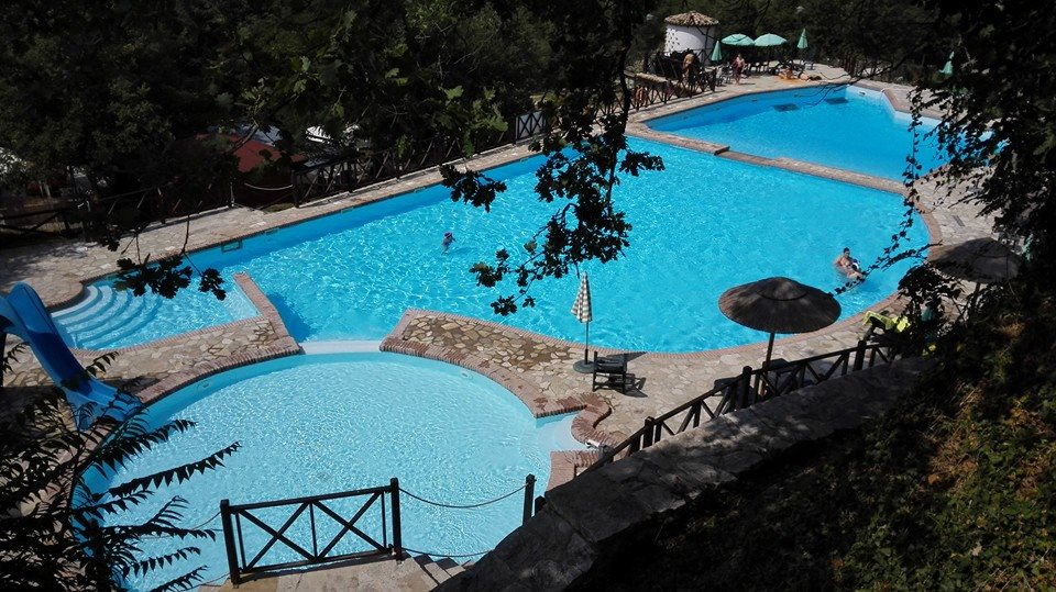 A swimming pool obtained from the accumulation tanks  of the water mills, one of the major attractions in Roseto Valfortore.